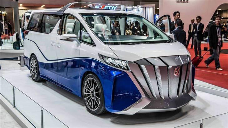 מכוניות מיוחדות: טויוטה אלפרד הרקול קונספט (2016) Toyota Alphard Hercule Concept