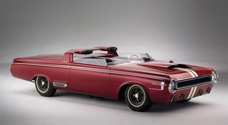 מכוניות מיוחדות: דודג' צ'רג'ר רודסטר קונספט (1964) Dodge Charger Roadster Concept