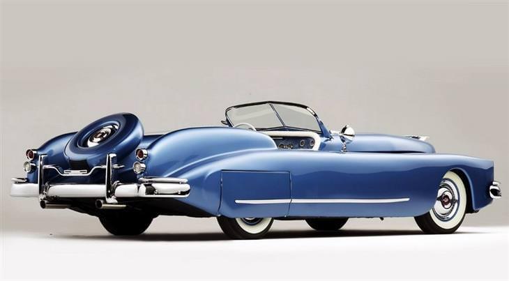 מכוניות מיוחדות: מרקורי בוב הופ קונספט (1950) Mercury Bob Hope special concept