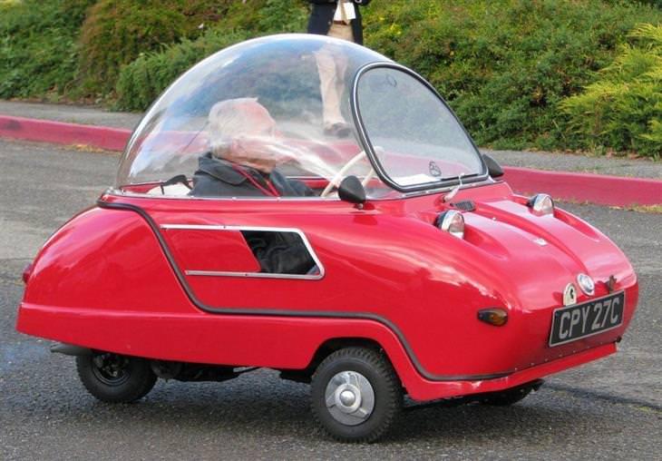 מכוניות מיוחדות: פיל טריידנט (1960) Peel Trident