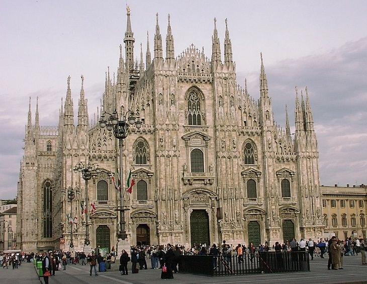 טיול לצפון איטליה: קתדרלת מילאנו