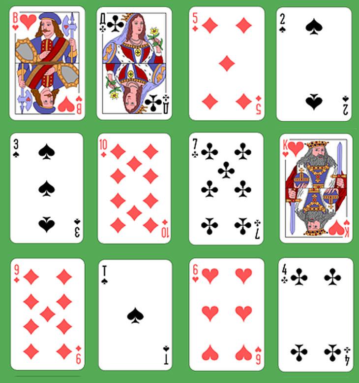 חידות: פיתרון חידת הקלפים