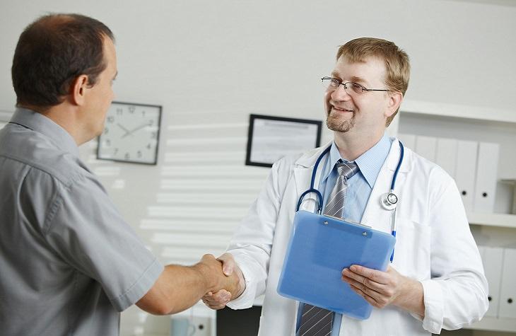 גלי קול לטיפול באין אונות: פגישה עם רופא