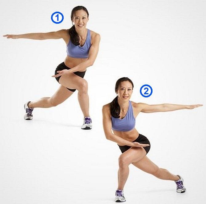 אימון טבטה: תרגיל החלקה מהירה
