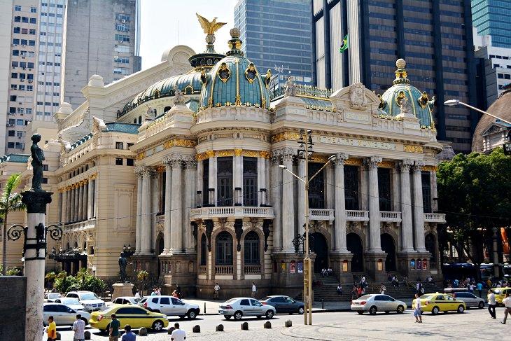 אתרים בריו דה ז'נרו: בית האופרה העירוני
