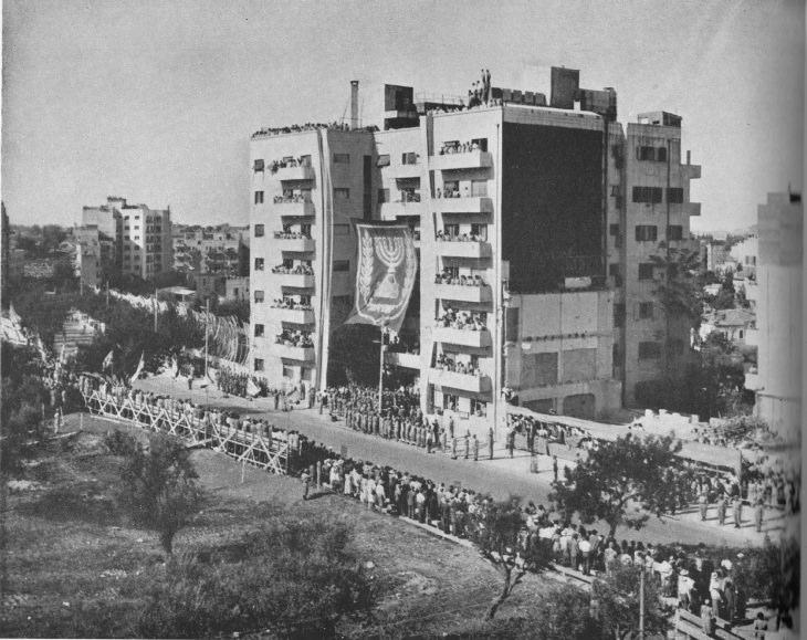 """ירושלים ההיסטורית: מצעד צה""""ל בירושלים בחגיגות יום העצמאות"""