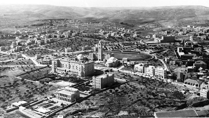 """ירושלים ההיסטורית: בניין הימק""""א ומלון המלך דוד בירושלים"""