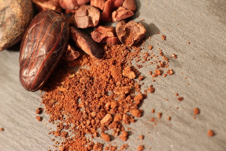 שייק בריאות ירוק: אבקת קקאו