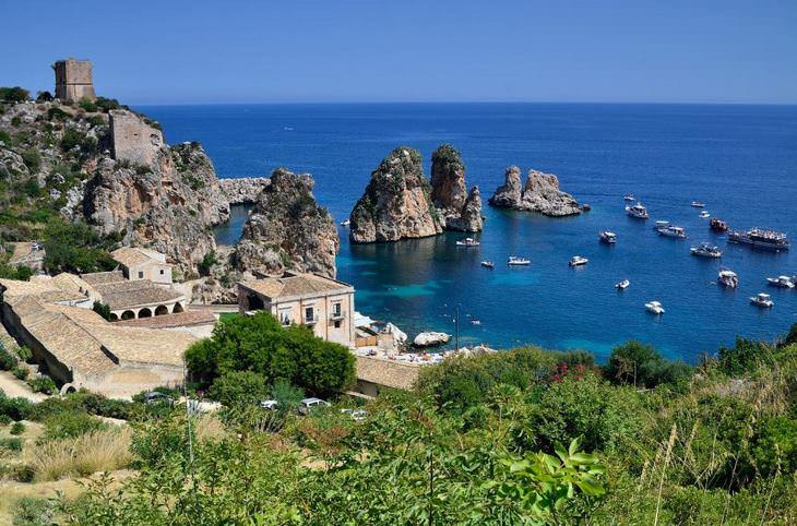 המלצות לטיול בסיציליה: צילום נוף של סקופלו