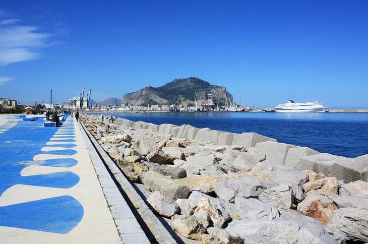 המלצות לטיול בסיציליה: נמל בפלרמו