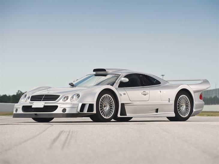מכוניות יוקרה: 1998 מרצדס בנץ CLK-GTR