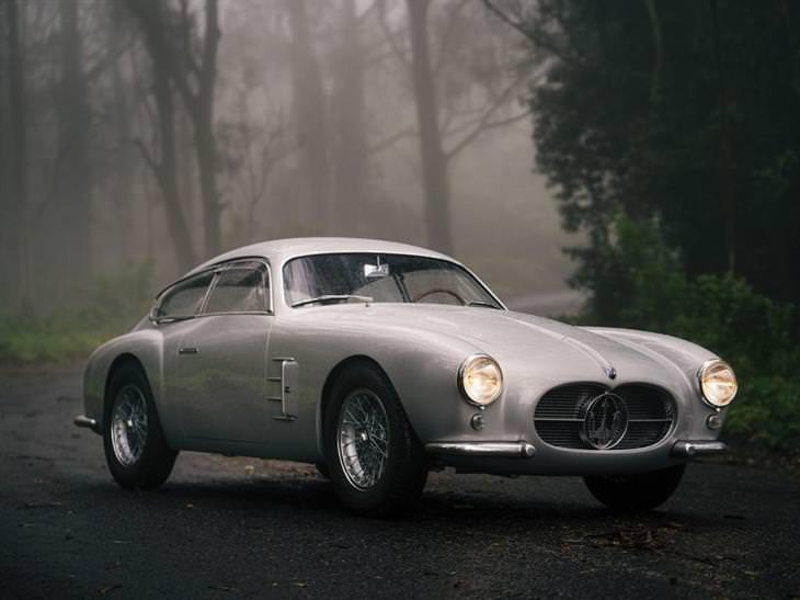 מכוניות יוקרה: 1956 מזראטי A6G\2000 ברלינטה זגאטו