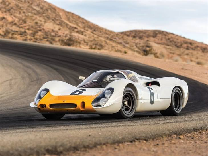 מכוניות יוקרה: 1968 פורשה 908 זנב קצר