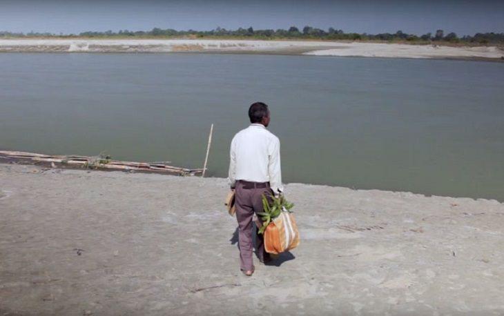 הגנן ההודי שמציל את האי מג'ולי: ג'אדאב פיינג הולך לכיוון האי מג'ולי