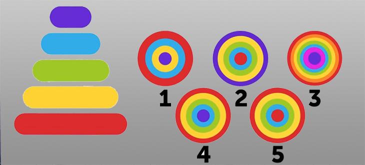 חידות: פירמידת צבעים