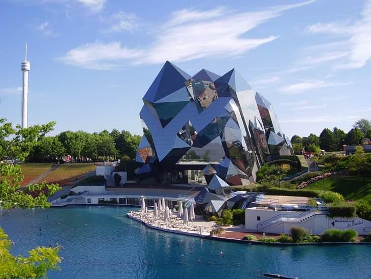 15 מבנים מרשימים מהעולם: פוטורוסקופ - ויין, צרפת