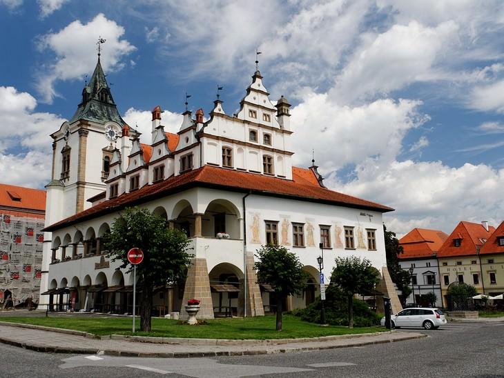 אתרים בסלובקיה: בית העירייה הישן בלבוצ'ה