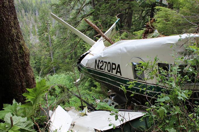 מבחן הישרדות בג'ונגל: התרסקות מטוס בג'ונגל