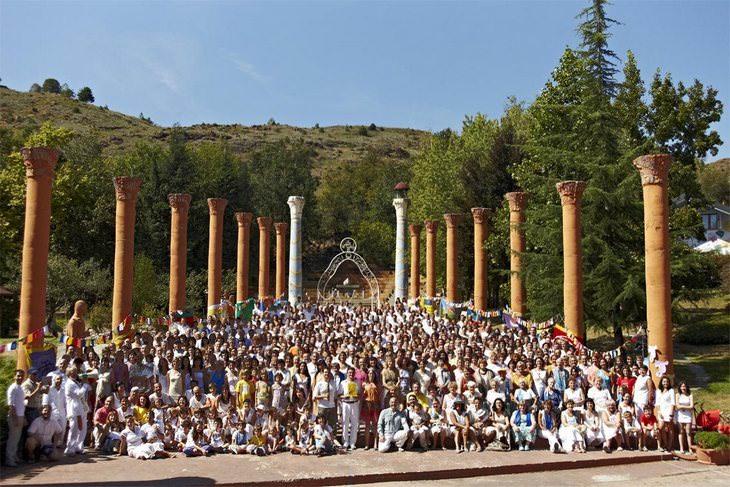 מקדשי דמנהור: תמונה קבוצתית של אנשים מקהילת דמנהור