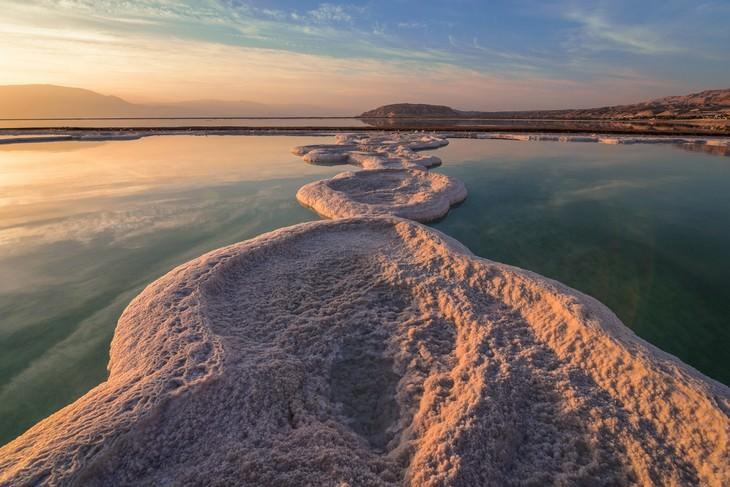 מסלולי טיולים באזור ים המלח: זריחה בים המלח