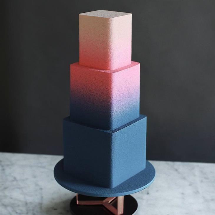 עוגות שנראות כמו יצירות אומנות: