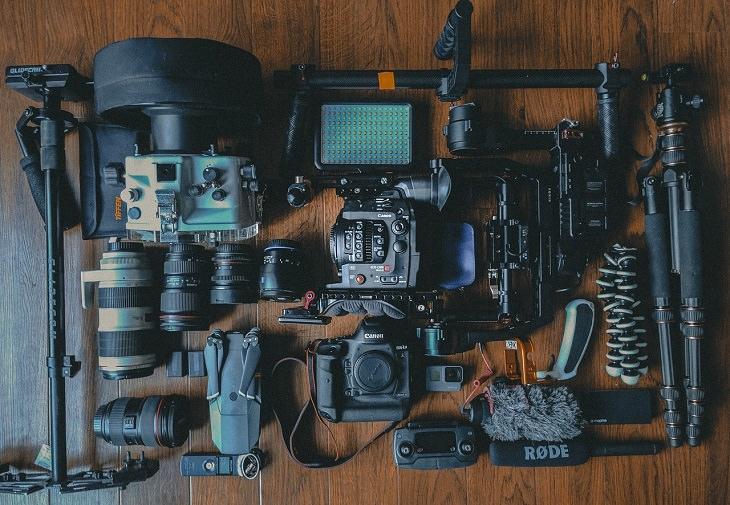 טיפים לקניית מצלמה דיגיטלית: ציוד למצלמה