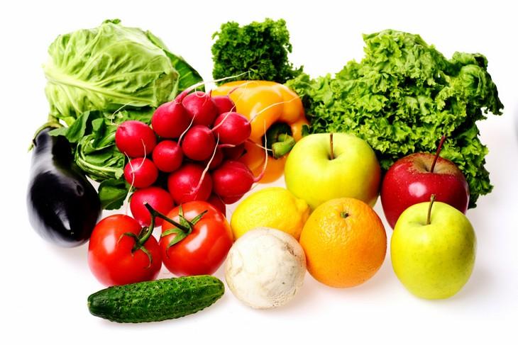 שחרור לחצים אחרי לידה: פירות וירקות