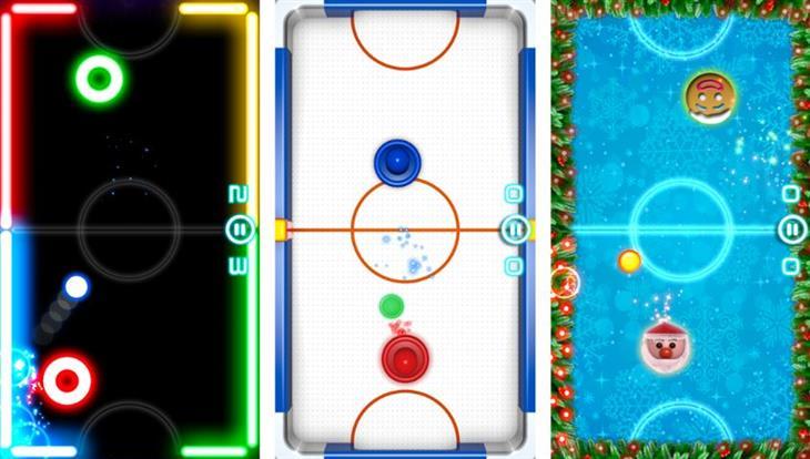 משחקים לסמארטפון ל-2 שחקנים: הוקי אוויר