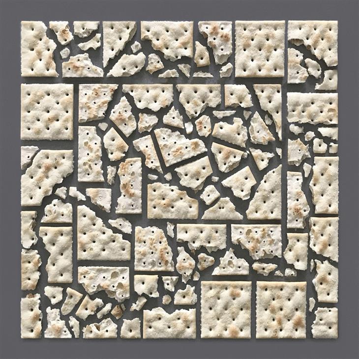 יצירות סימטריות של קריסטן מייר: יצירה מקרקרים