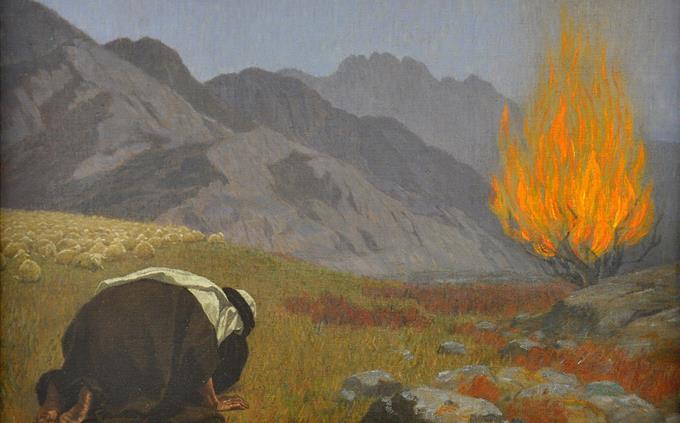טריוויה על התורה: משה מול הסנה הבוער