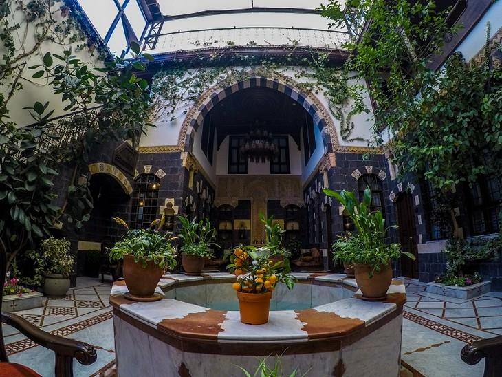 תמונות מסוריה: מלון בית אל-ואלי, מבנה אוריינטלי עתיק בבאב תומא - הרובע הנוצרי שבעיר העתיקה בדמשק.