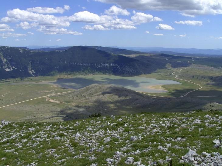 אתרים בבוסניה והרצגובינה: תצפית על העמק של הפארק הלאומי בלידיניי