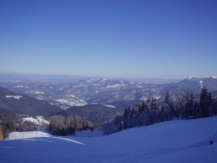 אתרים בבוסניה והרצגובינה: תצפית מפסגת הר יוהרינה