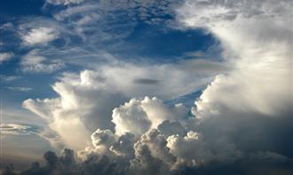 בחן את עצמך: שמים עם עננים