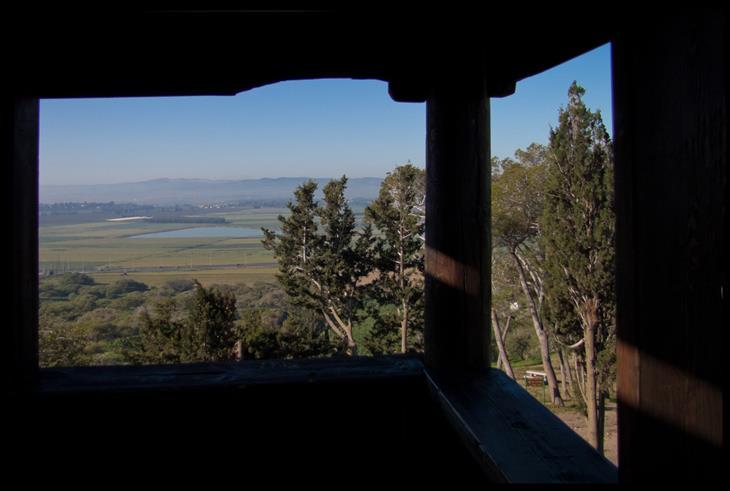 אתרי טבע ומסלולים בעמק יזרעאל והסביבה: מבט על עמק יזרעאל ממגדל השמירה בתל שמרון