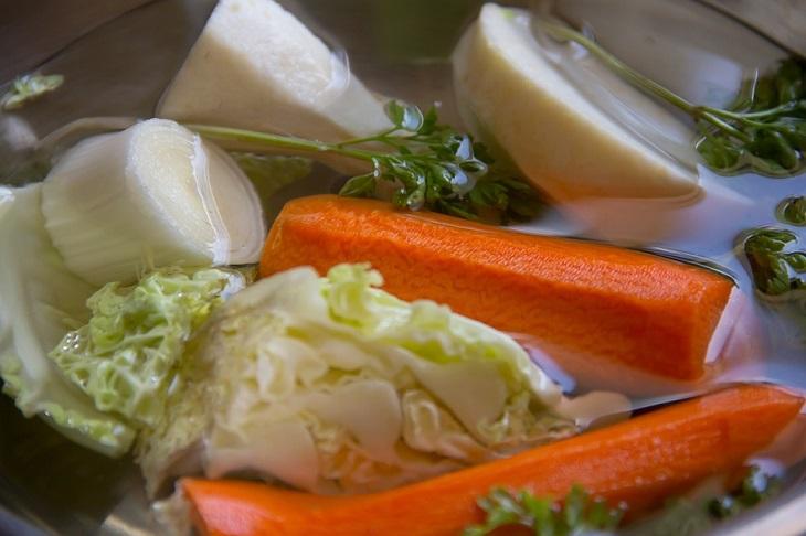 טיפים לטבעוניים צמחוניים ולמעוניינים: ירקות מבושלים במים