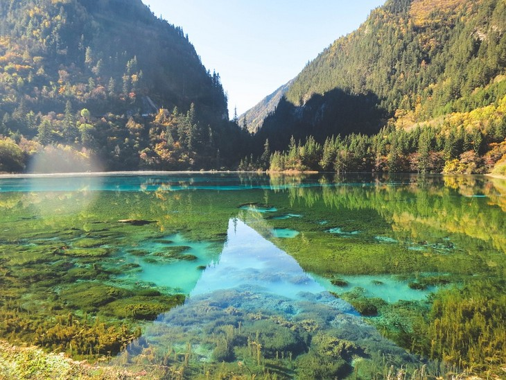 יערות מיוחדים: אגם צבעוני בפארק ג'יוג'איגואו