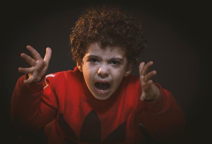 איך להתמודד עם שינויי מצב רוח אצל ילדים: ילד צועק