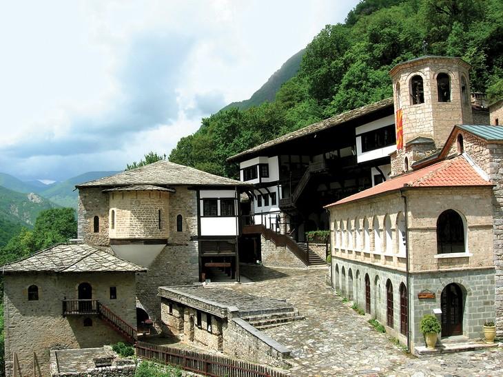יעדים במקדוניה: מנזר יוהן ביגורסקי