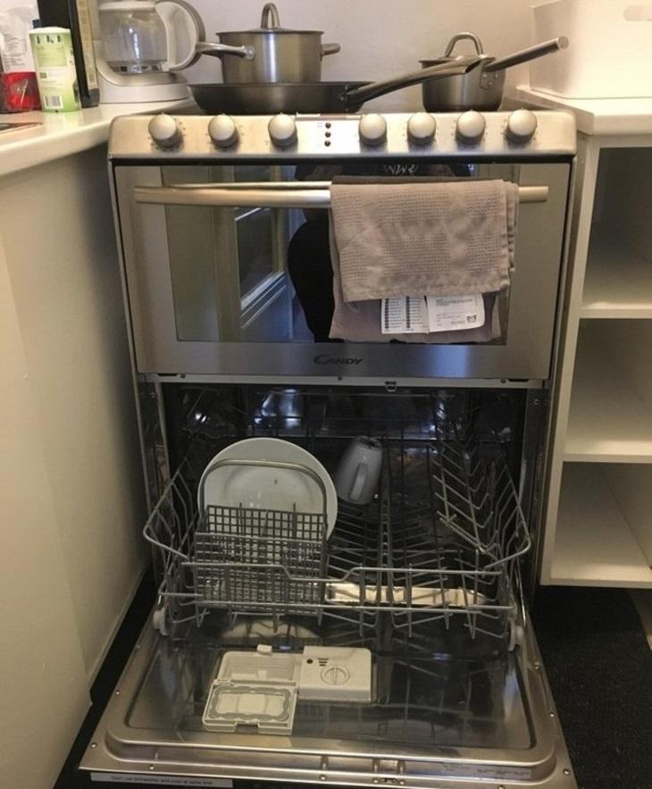 גאדג'טים למטבח: תנור שהוא גם מדיח כלים