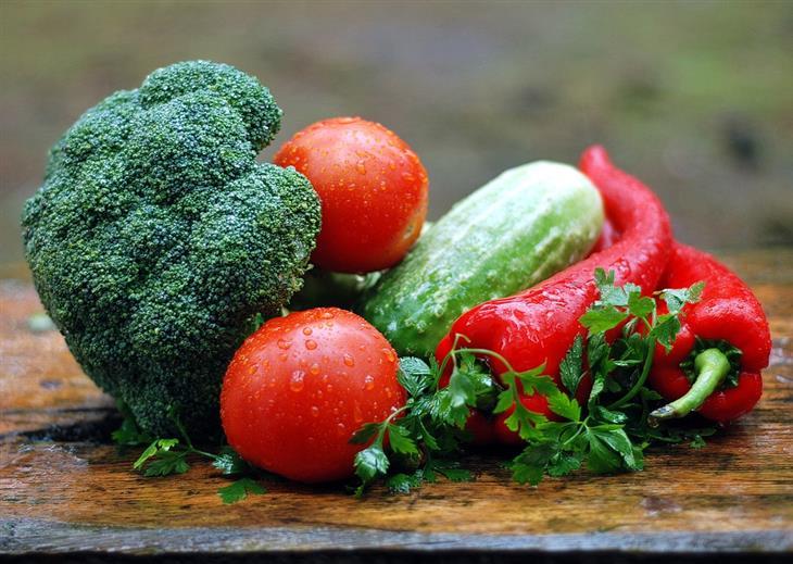 6 שילובי מזון: לקט ירקות טריים
