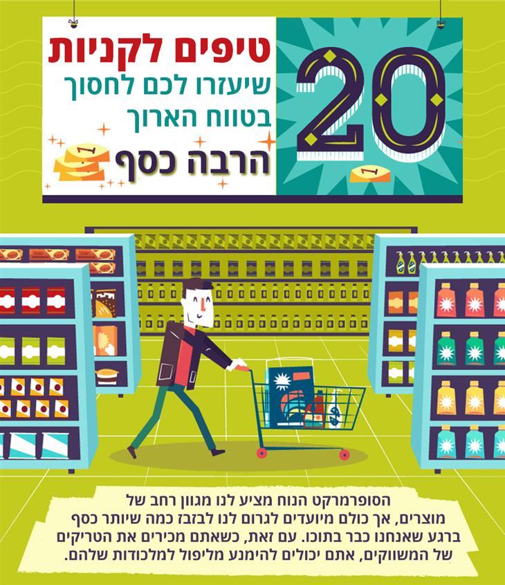 טיפים לחיסכון בקניות