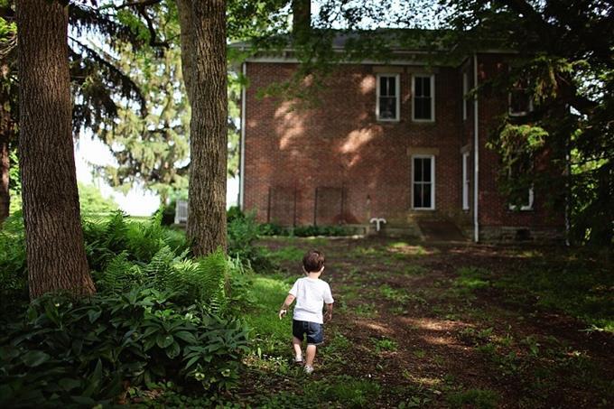 מבחן אישיות איזה דור אתה: בית ומולו ילד קטן