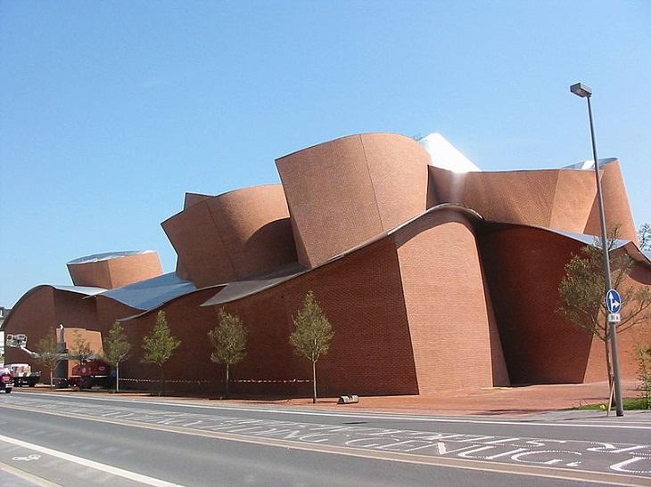 מבנים בעיצוב פרנק גרי: מוזיאון מרתה הרפורד לאמנות עכשווית