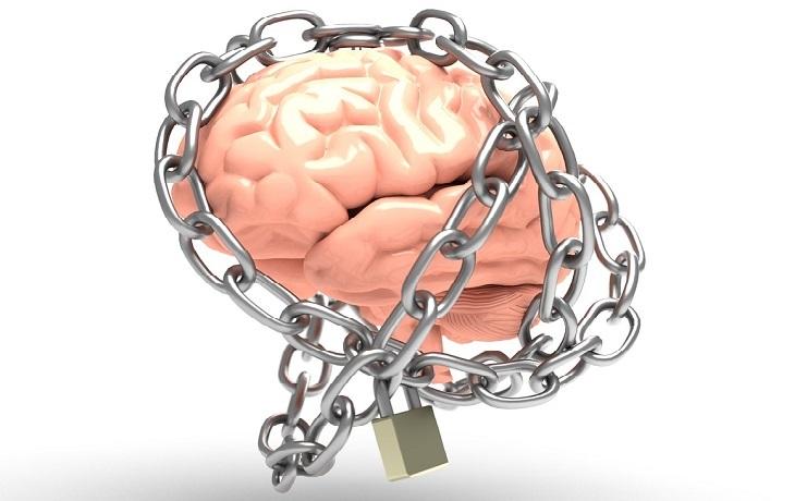 שיטה של 5 דקות לטיפול בחרדות: מוח כבול בשרשראות ברזל