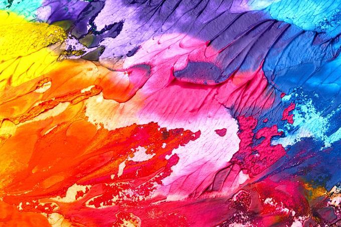 מבחן אישיות: צבעים מרוחים