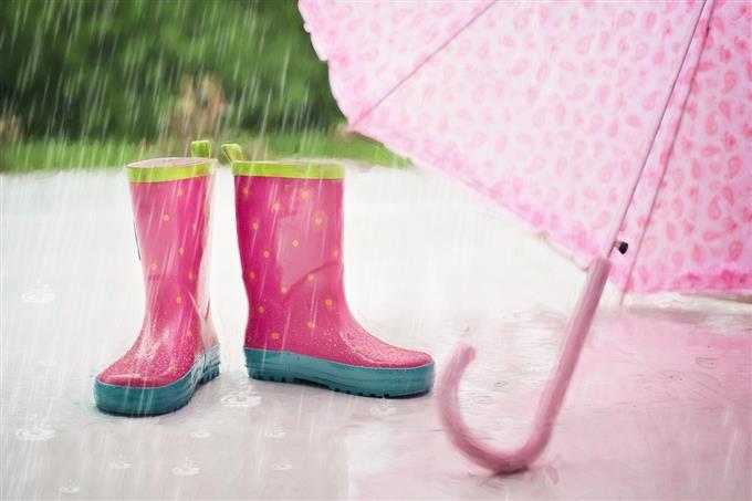 מבחן אישיות: מגפיים ומטרייה בגשם