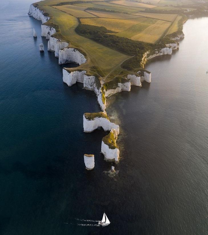 צילומי מים: סלעי הארי הזקן שבדורסט, בריטניה