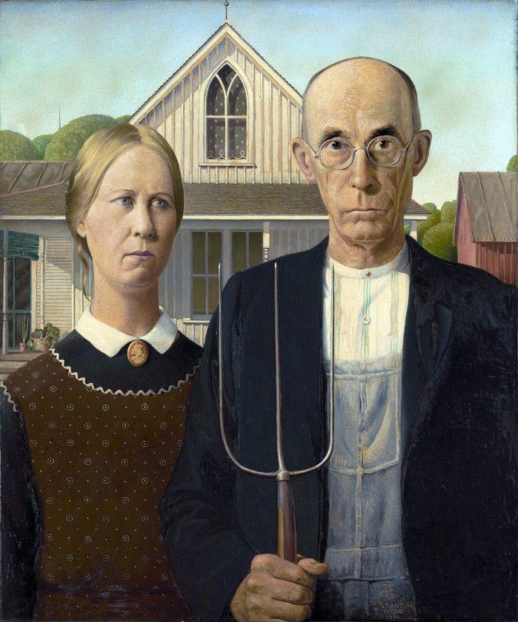 סיפורים מאחורי ציורים מפורסמים: אמריקן גותיק