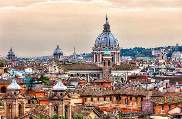 המחוזות המומלצים ביותר באיטליה: נוף ברומא